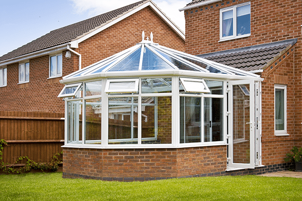 Outside image of a conservatory