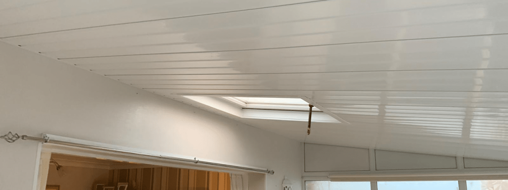 conservatory roof with skylight