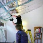 installing insulation in conservatory roof