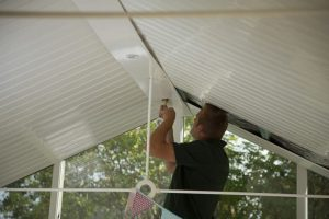 Conservatory Insulation Fitting