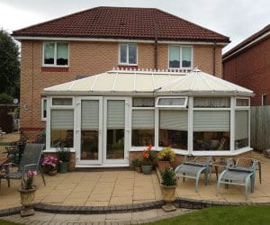 One of our conservatories